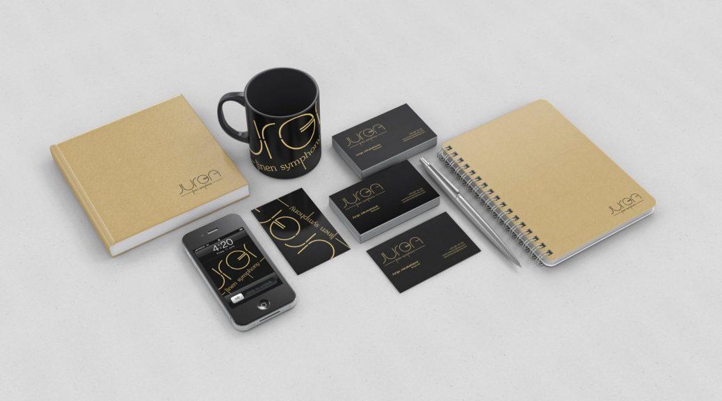 verslo dovanos - firminis stilius, bloknotai, vizitinės kortelės, puodukai, fono paveiksliukai