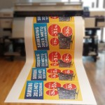 Plačiaformatė spauda - lipdukai, plakatai