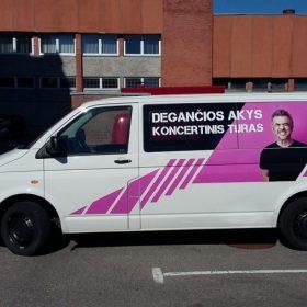 Išorinė reklama - reklama ant mašinų