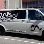 Išorinė reklama - reklama ant mašinos