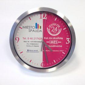 verslo dovanos - laikrodžiai su užrašais