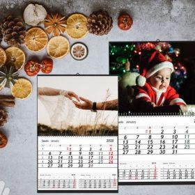 Skaitmeninė spauda kalendorius kaledinis