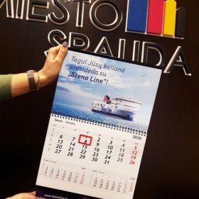 Skaitmeninė spauda - kalendorius